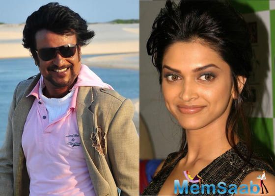 Deepika might romance Rajinikanth for the second time in Tamil