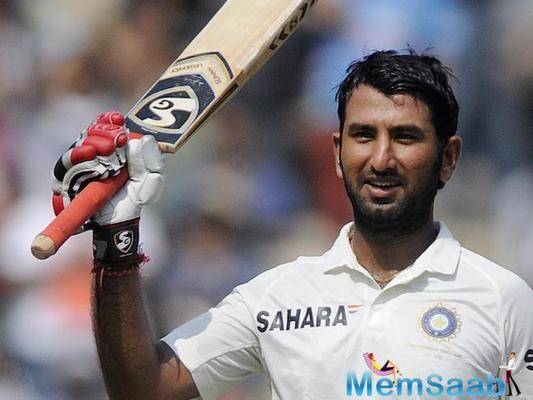 Saurashtra boy Pujara, reached a career-high 2nd rank among batsmen in ICC Test rankings