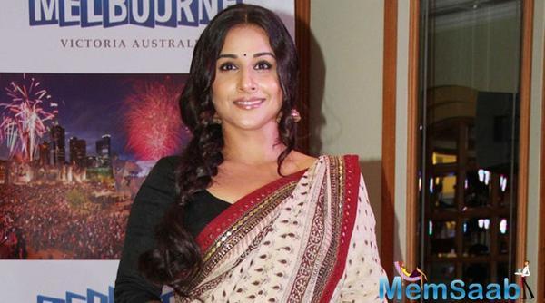 Vidya: I love doing a biopic on Indira Gandhi