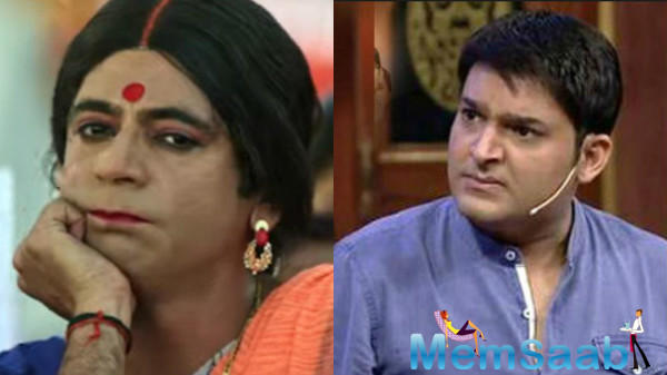Kapil Sharma threw a shoe at Sunil Grover for eating without him