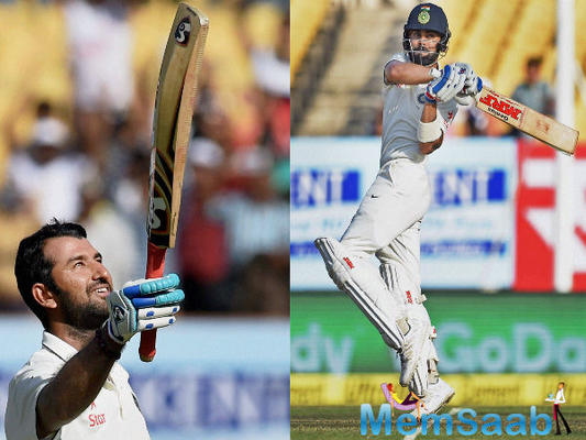 Pujara defends Virat Kohli ahead of the fourth and final Test in Dharamsala
