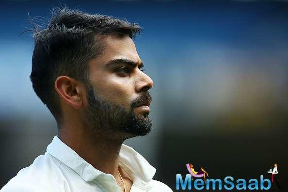 Virat Kohli is ruled out of the ongoing Test series