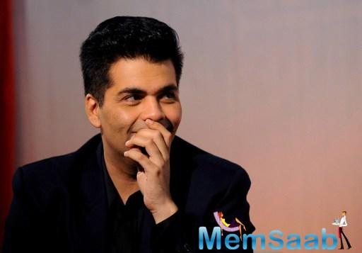 Karan Johar:  I will surely share the picture of my children but at the right time