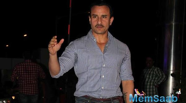 Saif Ali Khan wraps up Chef  in New York before leaving for London