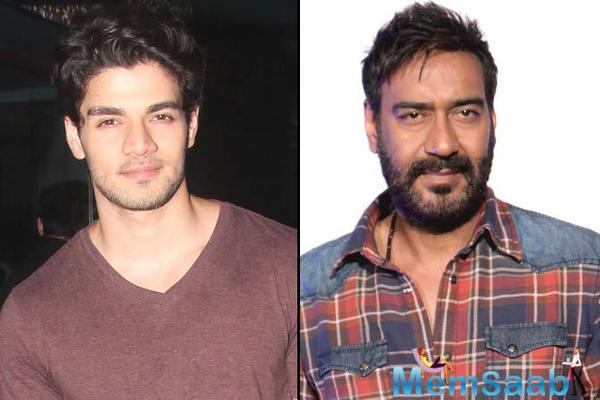 Sooraj Pancholi to start shooting love story, which also stars Ajay Devgn