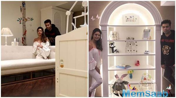 So adorable: Gauri Khan decorates Karan Johar twin's house
