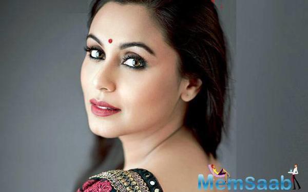 Rani Mukherji will play a school teacher in Siddharth P Malhotra's Hichki?
