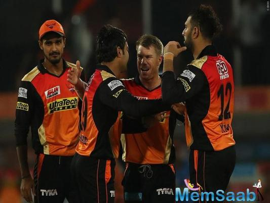 Debutante and first Afghan cricketer to play in the IPL, Rashid Khan, had a brilliant day on the field, as he picked up the two crucial wickets of Mandeep Singh and Travis Head.