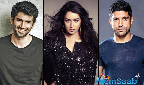 Find out the real reason, Why Farhan Akhtar and Aditya Roy Kapur fight over Shraddha