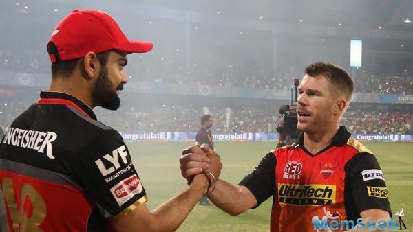 David Warner: Virat Kohli and I still good friends