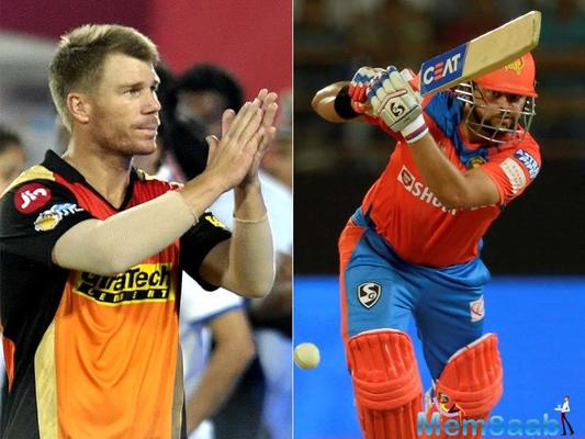 Sunrisers Hyderabad overpowered Gujarat Lions by nine wickets in the IPL encounter.