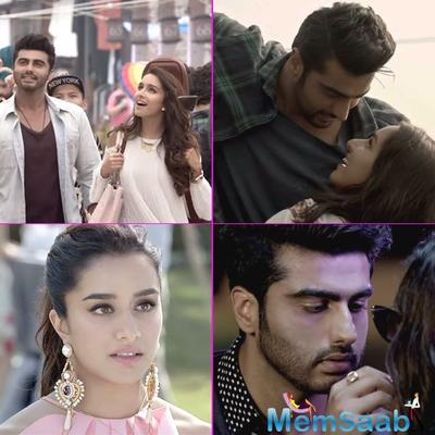 'Half Girlfriend' trailer out! It shows the unconditional love between Shraddha and Arjun