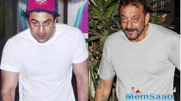 Unrecognizable! Ranbir Kapoor looks like Sanjay Dutt in his older avatar