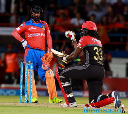 The Universe Boss is still here and still alive, says Gayle
