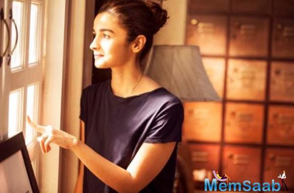 Alia Bhatt: I don't believe there's a full block for me