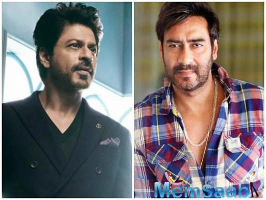 Shah Rukh and Ajay Devgn are at loggerheads once again