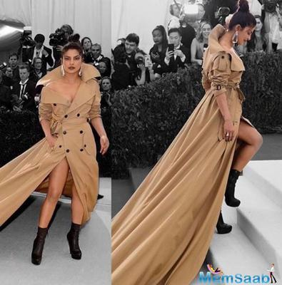 The custom Ralph Lauren outfit, which required a helper to take her up the stairs, has fetched PeeCee international fame and some of the prestigious Fashion & Lifestyle magazines have featured her in their best dressed category.