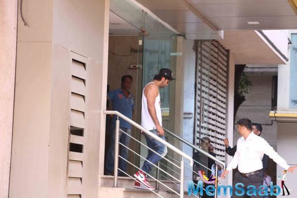 Ranbir and Alia start rehearsing for their forthcoming film Dragon!