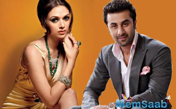 Aditi Rao Hydari: I'm a big fan of Ranbir Kapoor