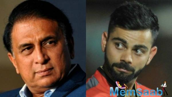 Sunil Gavaskar: Virat Kohli should look himself in the mirror