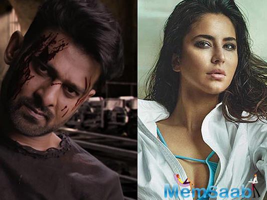 Katrina Kaif might be a part of 'Baahubali' Prabhas' upcoming sci-fi action thriller Saaho