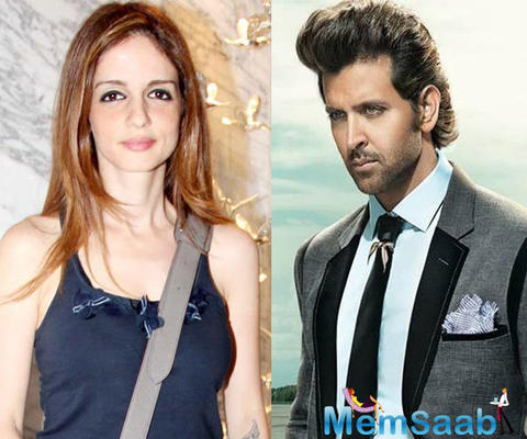 After their divorce in 2014,Hrithik and Sussanne in touch for their kids.