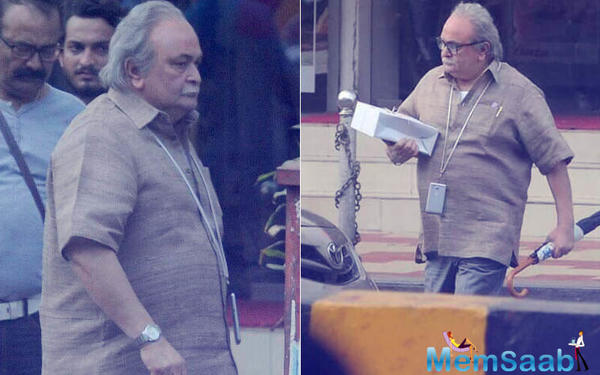 Rishi Kapoor In 102 Not Out: He goes unrecognized on the streets of Mumbai