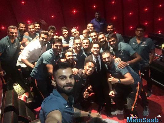 'Sachin: A billion dreams' special screening: Sachin Tendulkar gives Team India a grand CT send-off