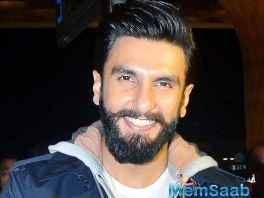 Ranveer Singh suffers injury on Padmavati set, continues shooting