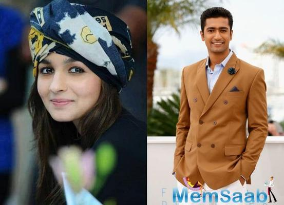 Vicky Kaushal will play Alia Bhatt's husband in Meghna Gulzar's next?