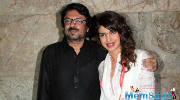 Priyanka is all set to produce a Bollywood film with Sanjay Leela Bhansali
