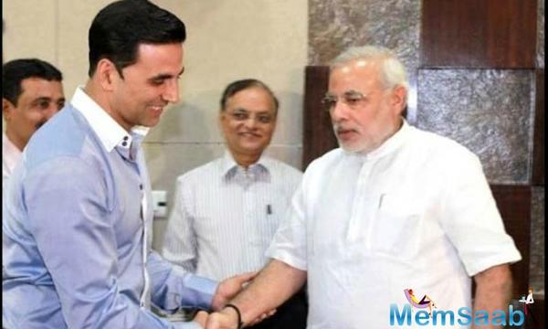 Exclusive: Akshay Kumar to play PM Narendra Modi in a film