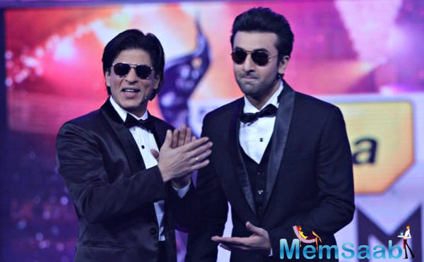 SRK pays Ranbir his reward and Bonus for suggesting the title 'Jab Harry Met Sejal