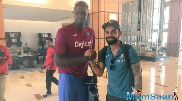 Kohli and Co land in the West Indies for five ODIs and a T20