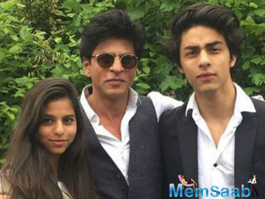 SRK: My kids are not making their Bollywood debut anytime soon, will first have to complete their studies