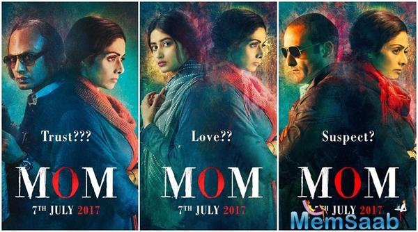 Mom is Sridevi's first Hindi film in five years after the critical and commercial hit English Vinglish, directed by Gauri Shinde. It is also being dubbed into Tamil, Telugu and Malayalam.