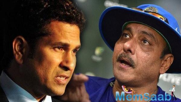 Sachin Tendulkar convinced Shastri to re-entry in India coach job?