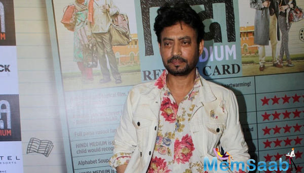 Here what Irrfan says about the rumours of He walked out of 'Gustakhiyan'?
