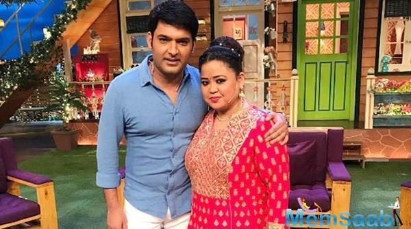 Bharti Singh didn't cancel the shoot: Nothing seems to have gone off between Kapil and Bharti