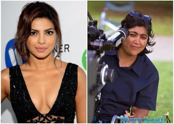 Indian-origin British filmmaker Gurinder Chadha is likely to team up with actress Priyanka Chopra for this picture.
