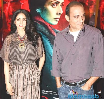 Sridevi: I never imagined I'd work with Akshaye Khanna