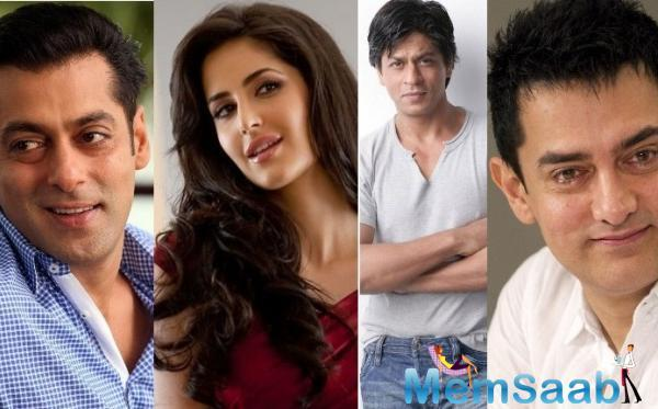 Katrina Kaif: Coincidence that I'm working with three Khans around the same time.