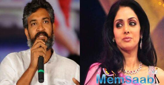 'I don't carry any grudges': Sridevi on rumoured rift with Rajamouli