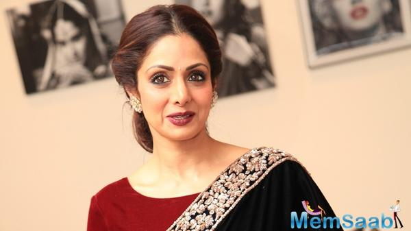 Now the director hopes to cast Sridevi in his next movie, which will be grown in Andhra Pradesh. Rajamouli plans to give Sridevi a role she has never tried before.