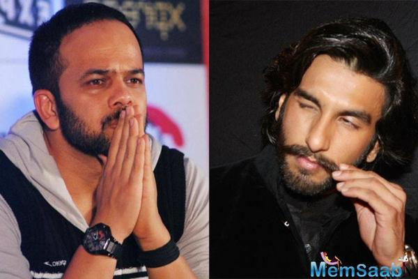 Rohit Shetty allegedly want's to do a high voltage action film with Ranveer Singh