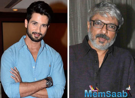 Shahid Kapoor has signed Bhansali's Tuesdays and Fridays: here what he has to say