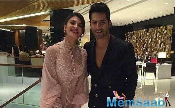 Varun, Jacqueline will shoot 5 songs together in 'Judwaa 2'
