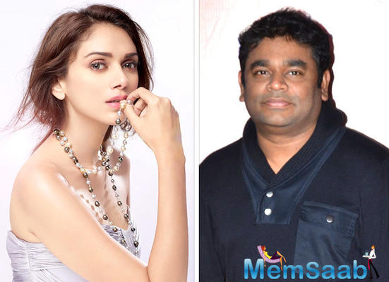 Aditi Rao Hydari: I'd love to sing for AR Rahman