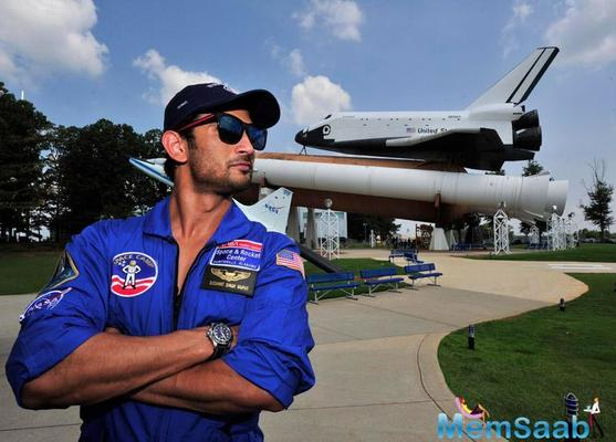 SSR is the first Bollywood actor to train at NASA