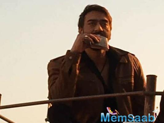 Ajay Devgn speaks about her intimate scenes with Ileana D'Cruz in 'Badshaho'